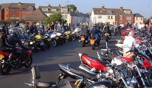 Poole Quay dream machine bike night, Dorset