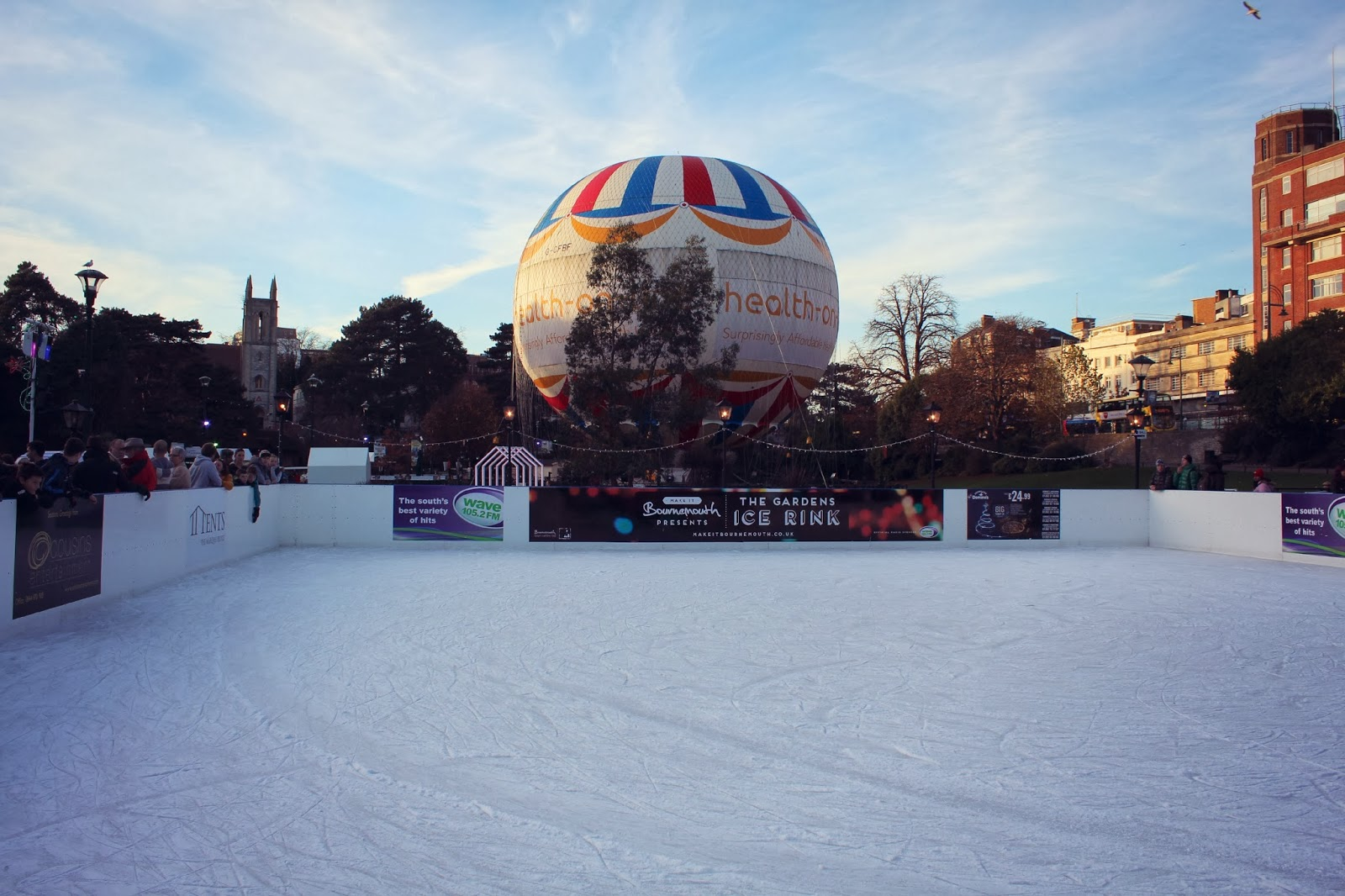 Bournemouth Gardens Ice Skating