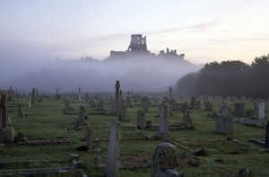 Halloween at Corfe Castle