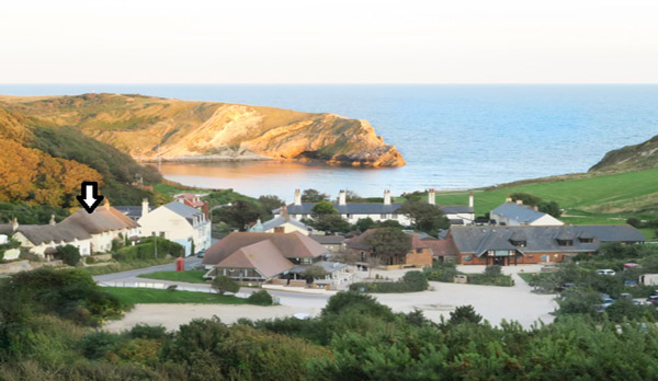 self catering cottage in lulworth Lulworth Cove