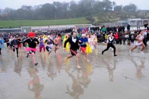 Lyme Regis fundraising swim, Dorset