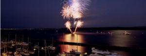 Fireworks at Poole Quay