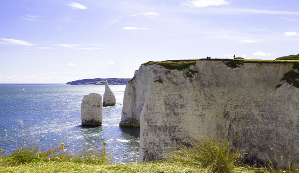 old harry rocks near swanage