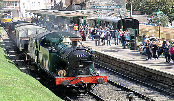 holiday home in swanage with sea views Swanage Railway