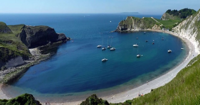 Holiday Cottage In Lulworth Cove Yards From The Beach And