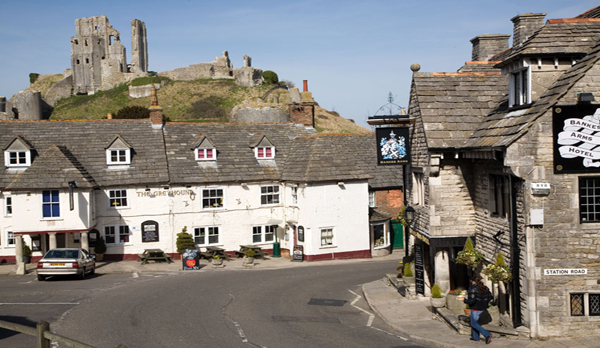 luxury dorset holiday cottage corfe castle town