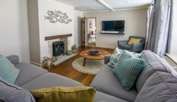 traditional cottage swanage lounge