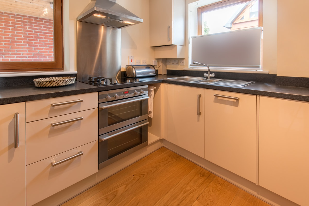 seaside holiday home in swanage kitchen