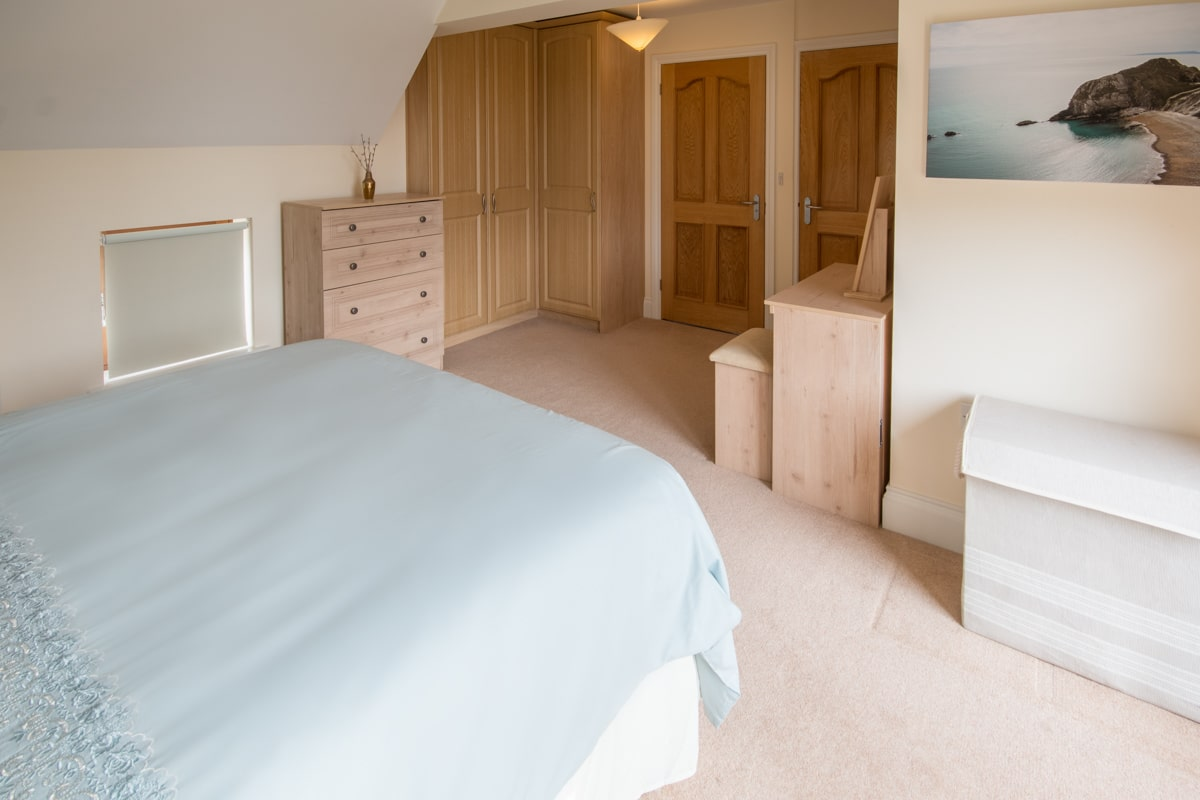 seaside holiday home in swanage bedroom