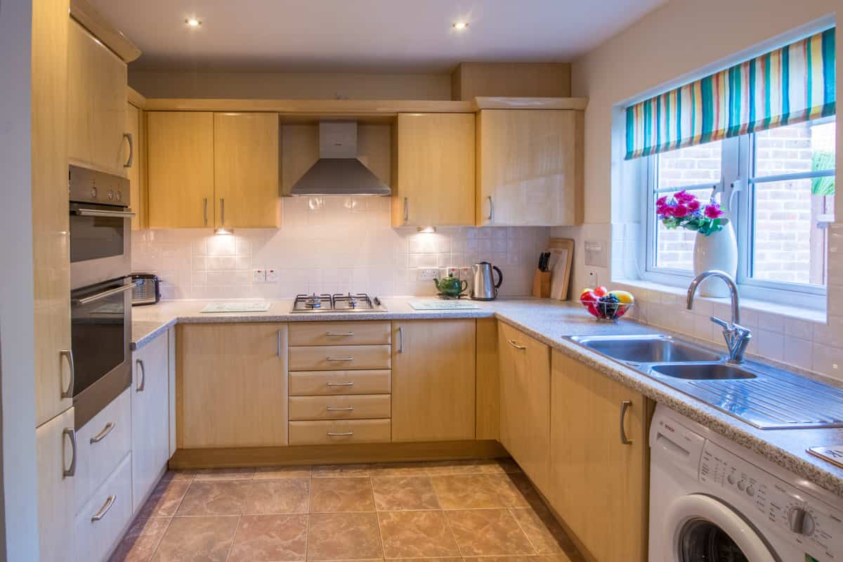 weymouth holiday home kitchen