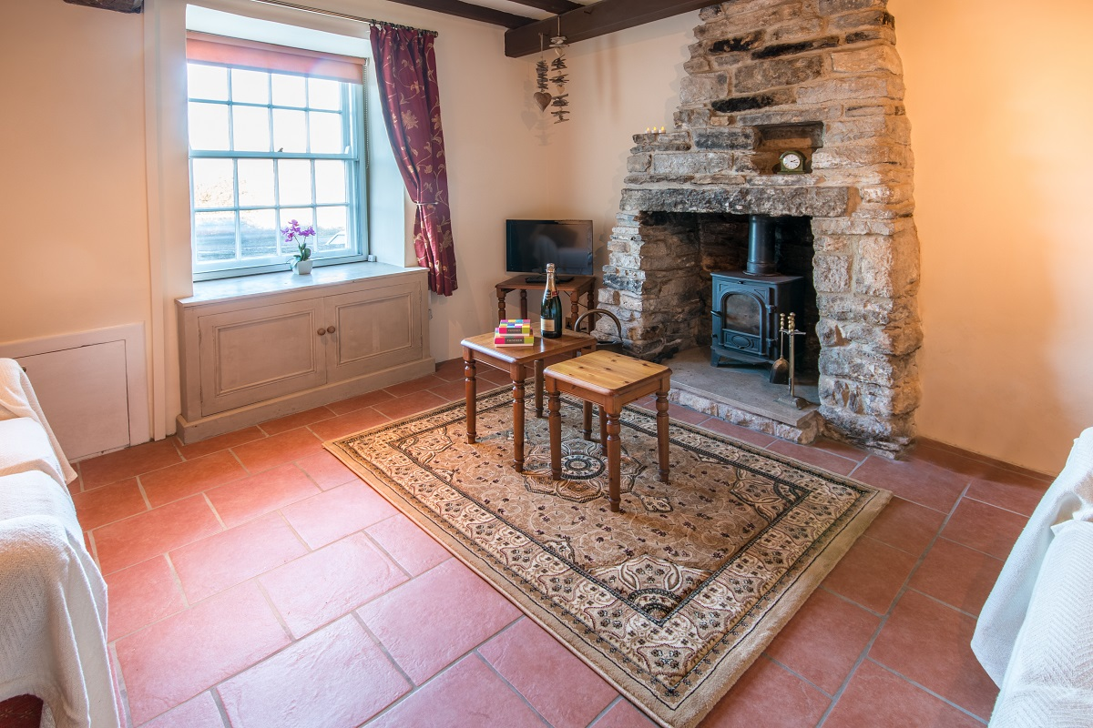 swanage holiday cottage living room 1
