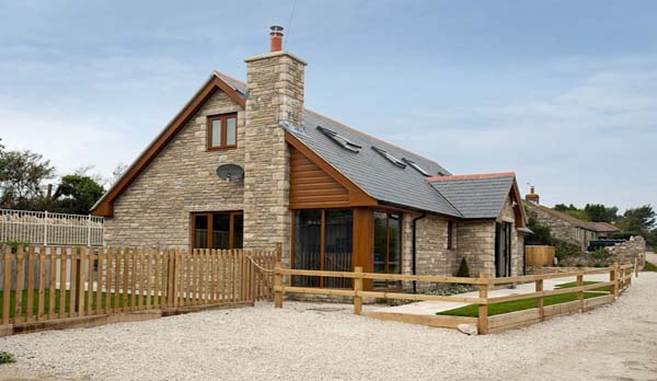 holiday home in worth matravers front exterior