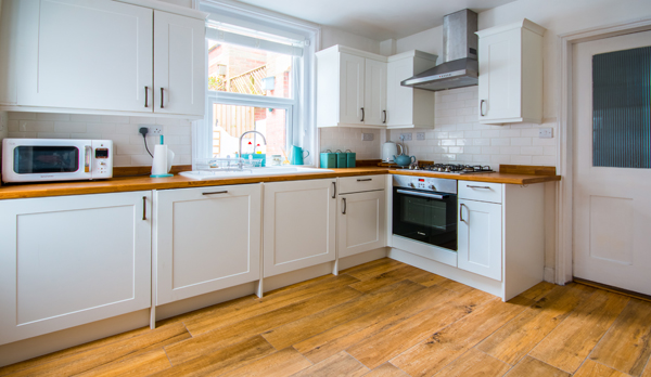 holiday home in wareham kitchen