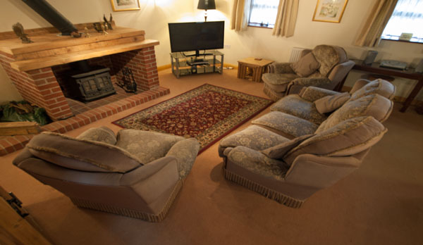holiday cottage complex dorset living room 2