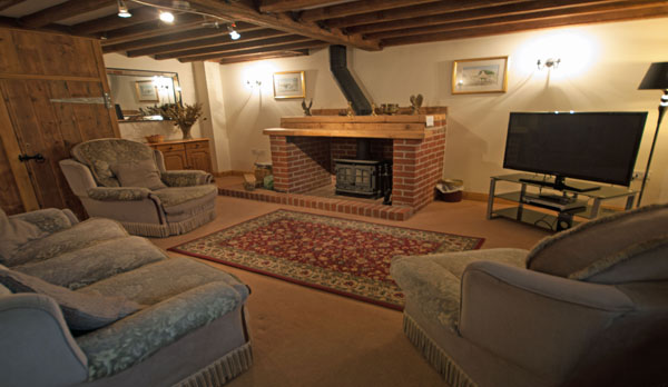 holiday cottage complex dorset living room