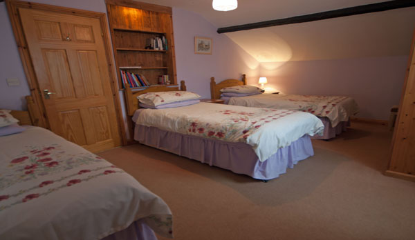 holiday cottage complex dorset triple bedroom