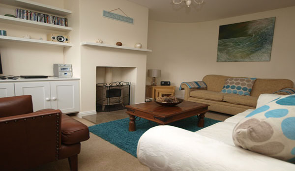 holiday cottage in lulworth cove lounge 2