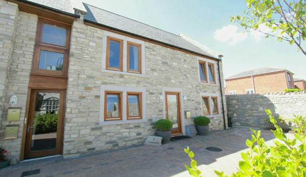 family holiday home in swanage external view