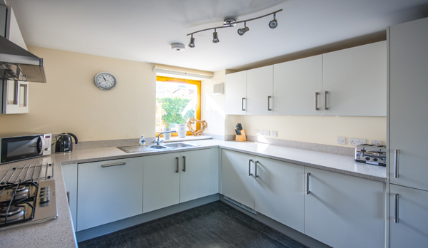 family holiday home in swanage kitchen
