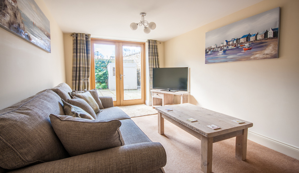 family holiday home in swanage lounge