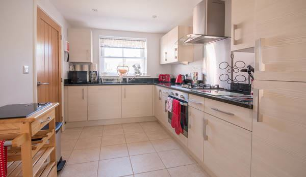 holiday accommodation in wareham kitchen