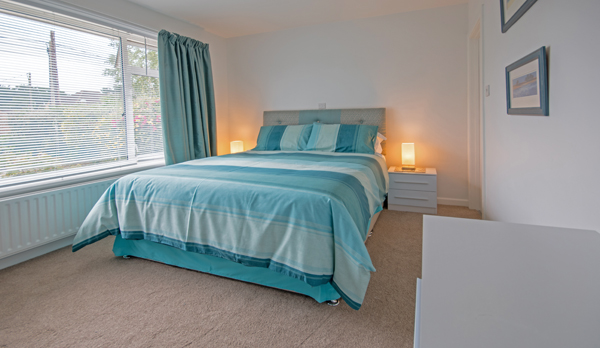 luxury accommodation near wareham double bedroom