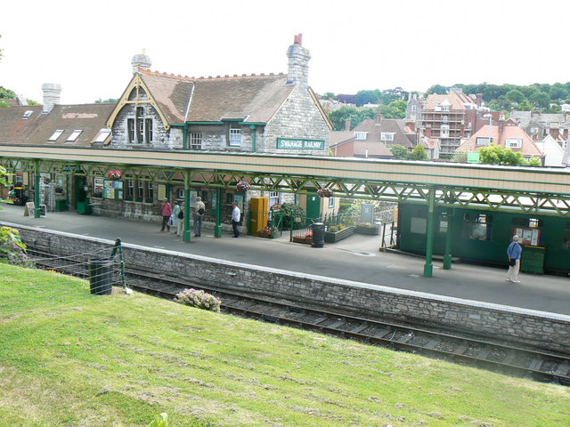 Accommodation for large groups in Swanage railway