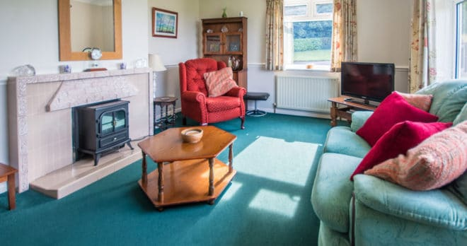holiday cottage blandford dorset lounge 2