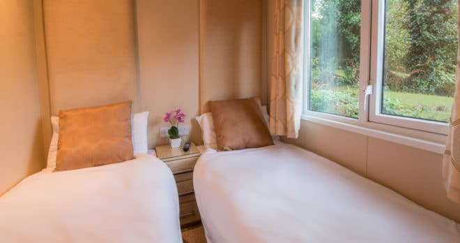 woodland falls luxury lodge on rockley park sleeps 6 double room