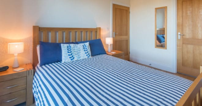 self catering holiday in swanage bedroom 2