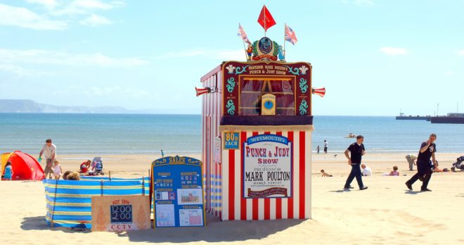 holiday home weymouth punch and judy