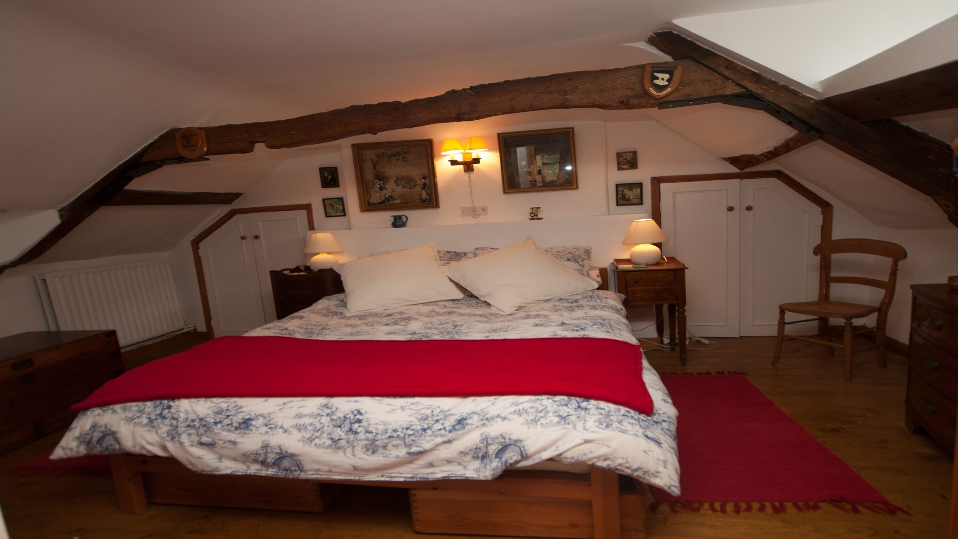 holiday country retreat in dorset double bedroom