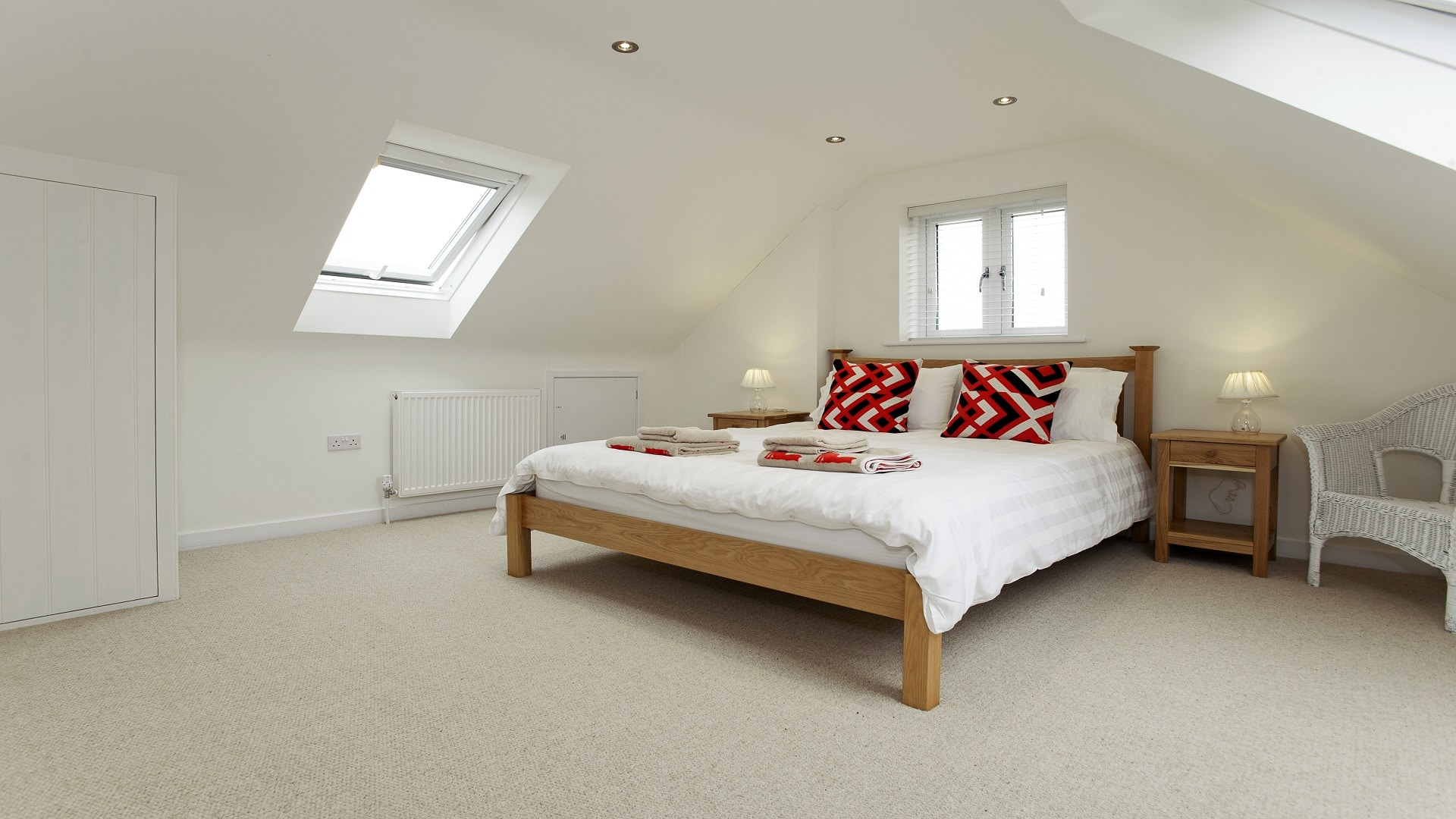 holiday home in worth matravers master bedroom