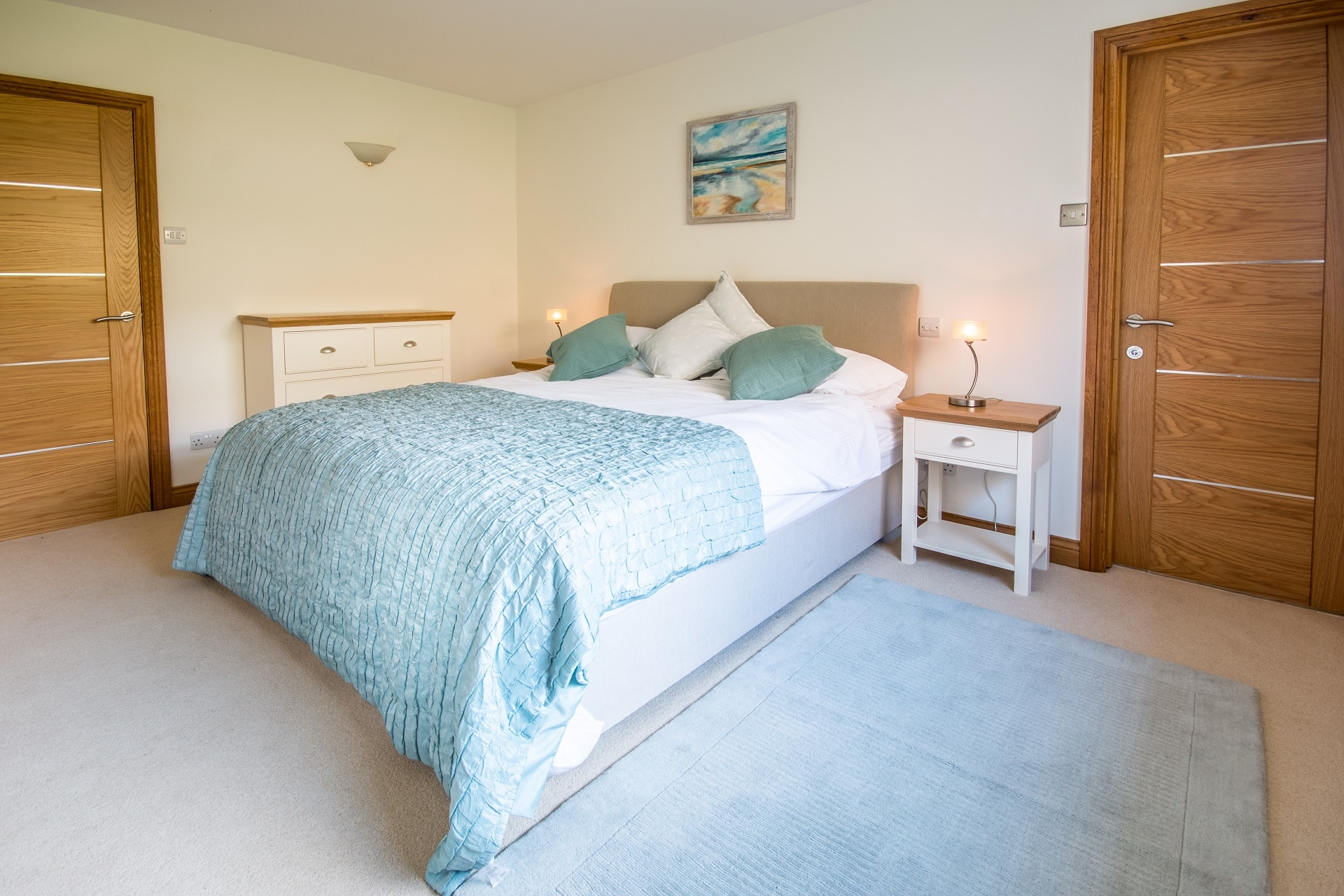 pet friendly sea view swanage master bedroom 2