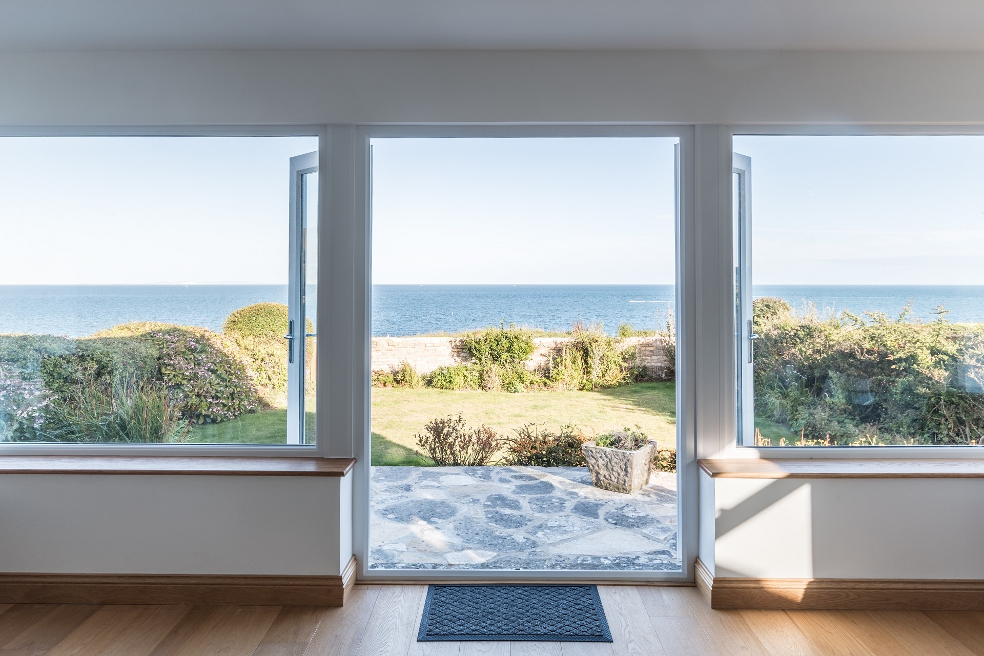 pet friendly sea view swanage view