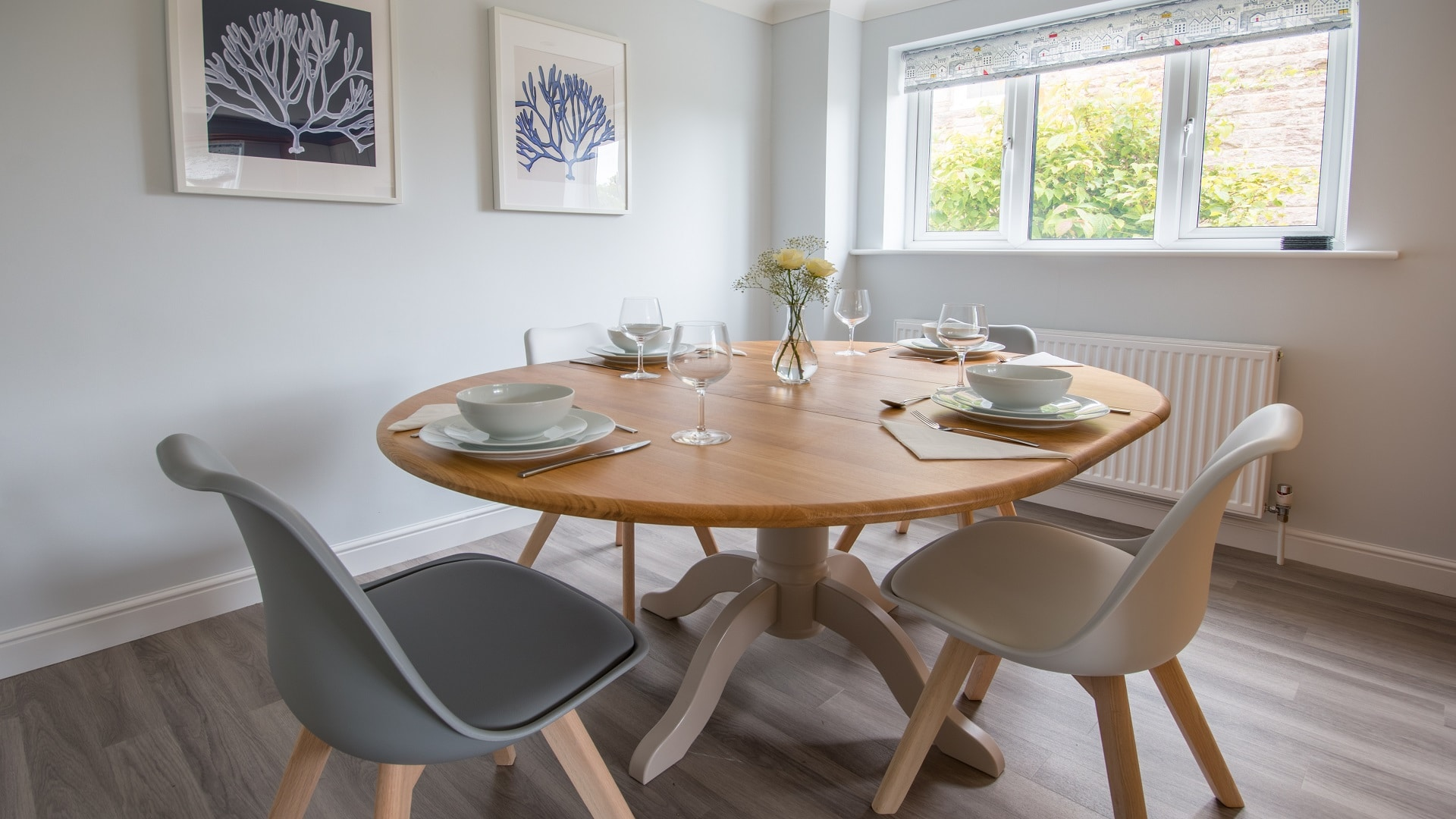 self catering holiday cottage in langton matravers dorset dining area