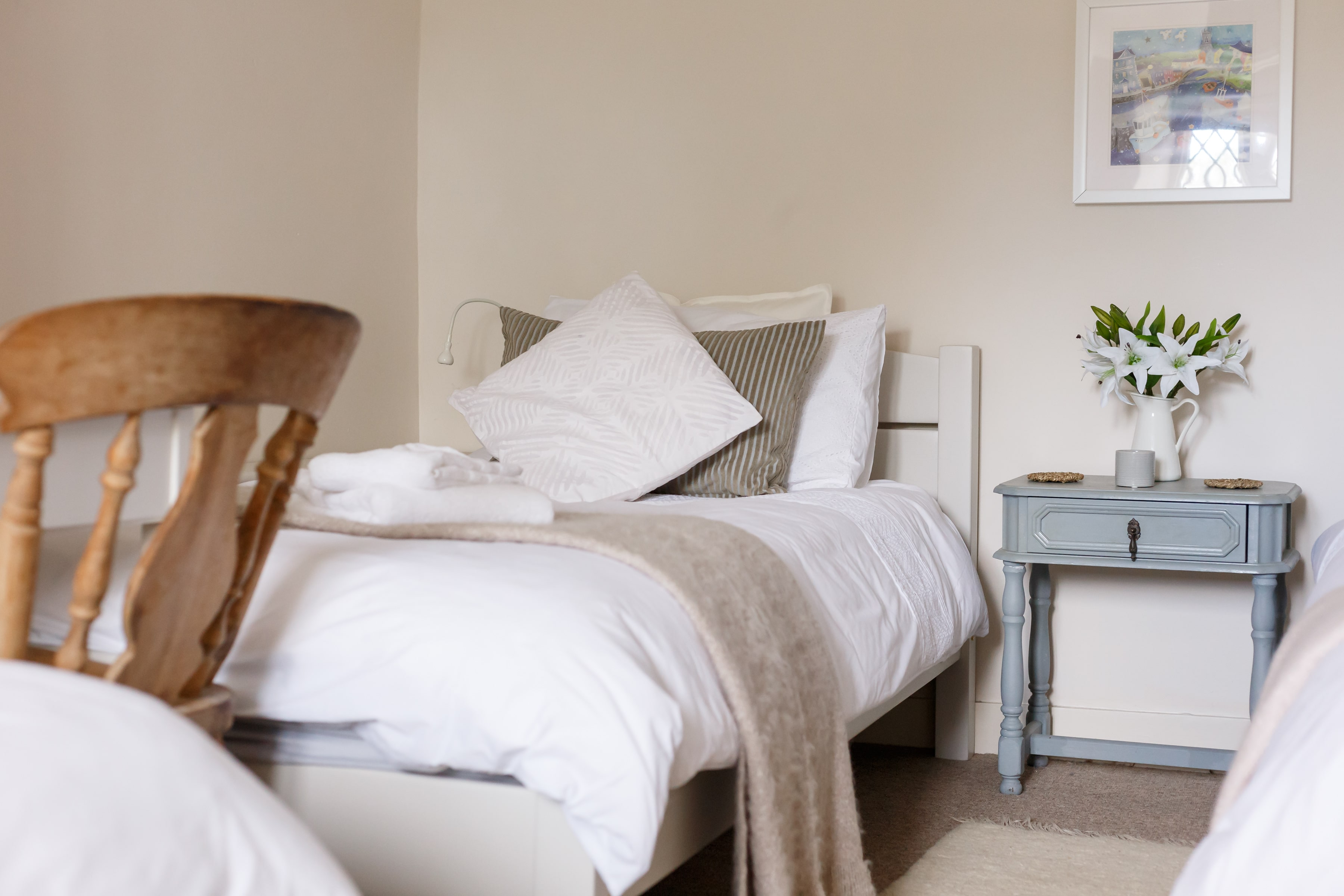 luxury purbeck accommodation bedroom