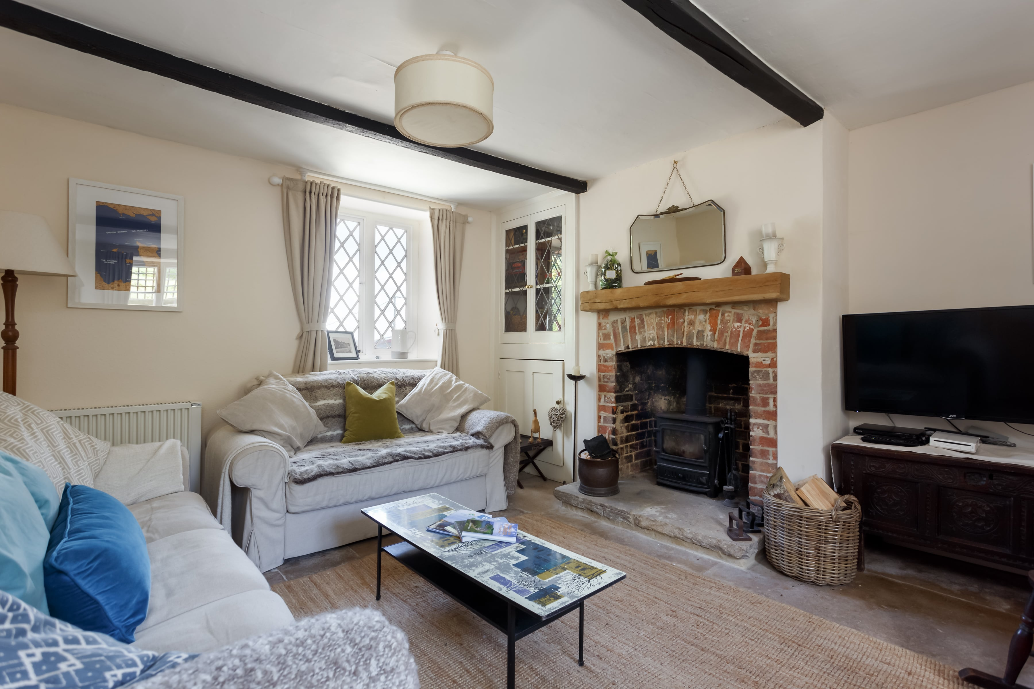 luxury purbeck accommodation living room