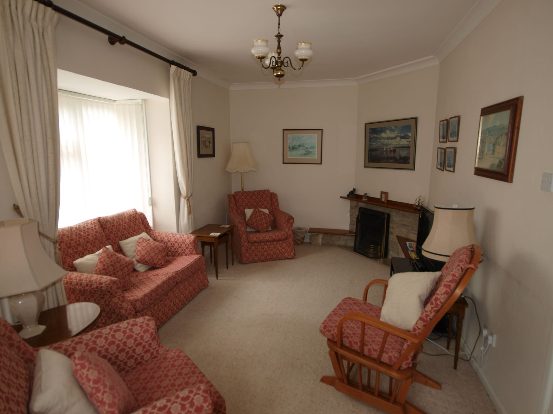 tanglewood holiday bungalow in swanage lounge