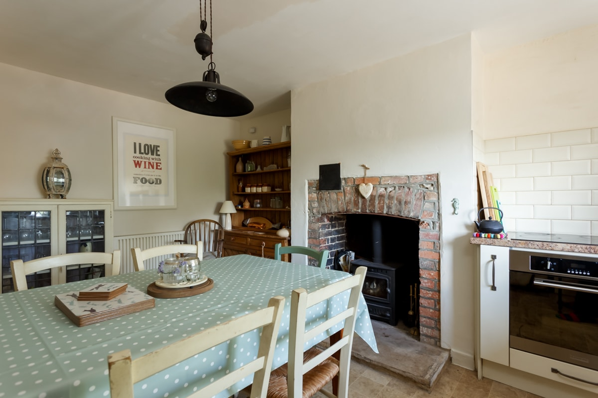 luxury purbeck accommodation dining room