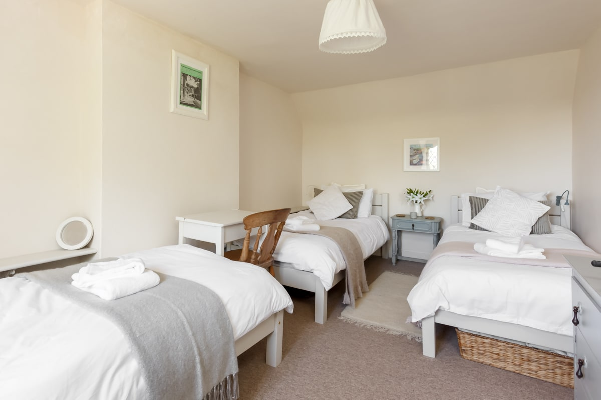 luxury purbeck accommodation triple room