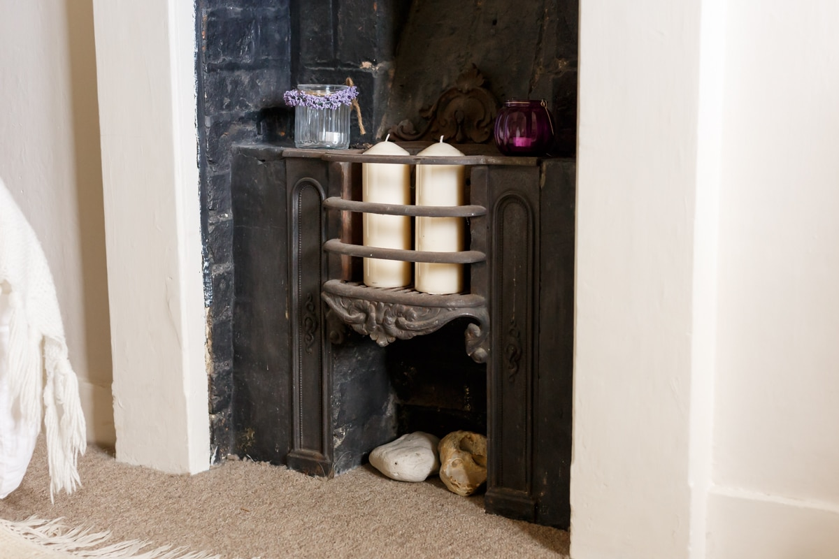 luxury purbeck accommodation fireplace