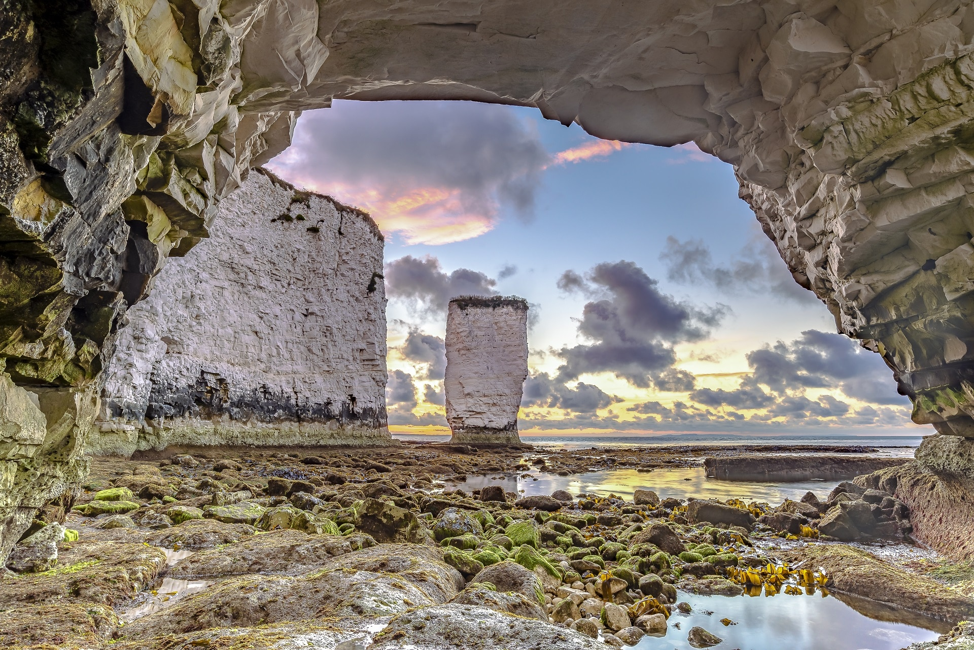 old harry sunset