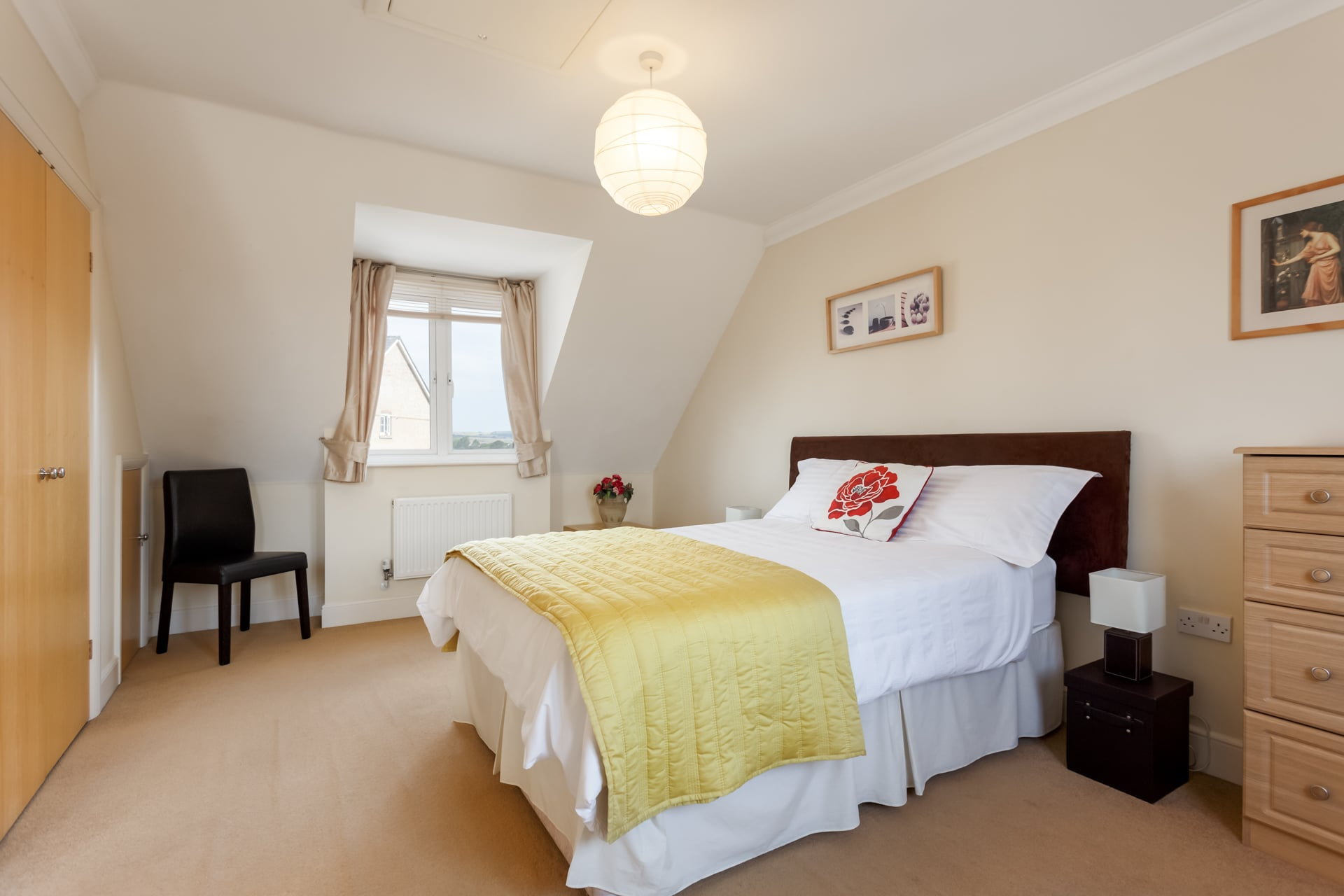Master bedroom has dual aspect of Weymouth