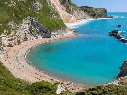 beautiful dorset coast