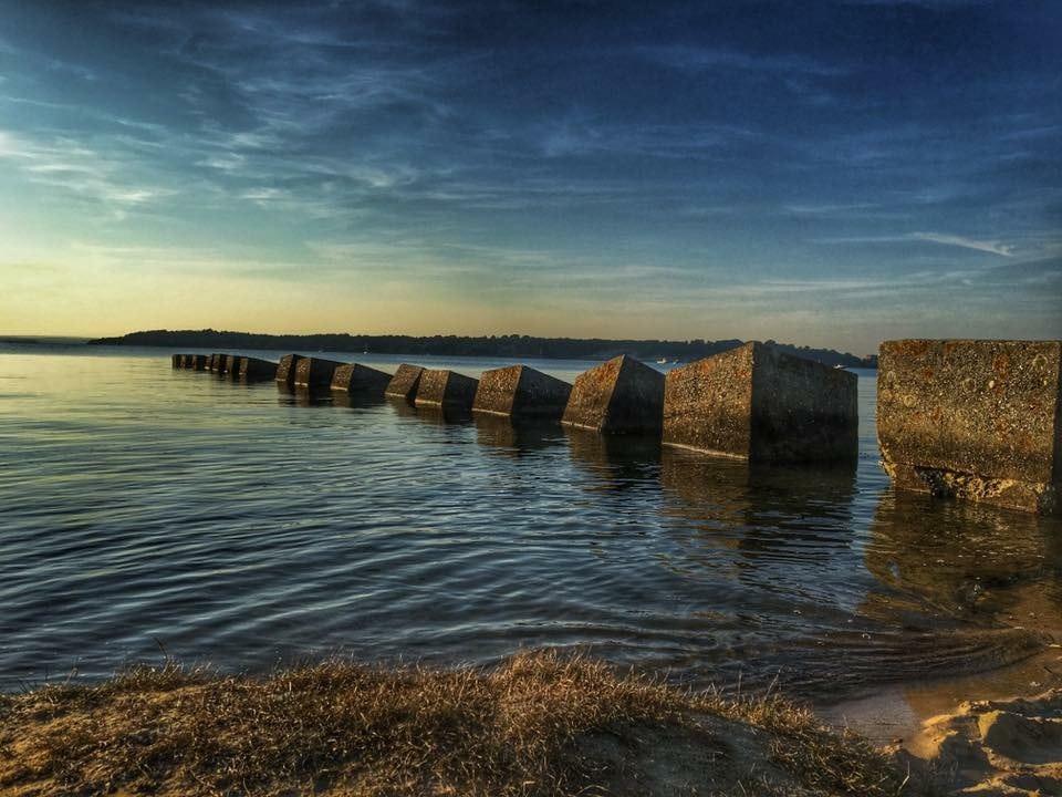 studland coast