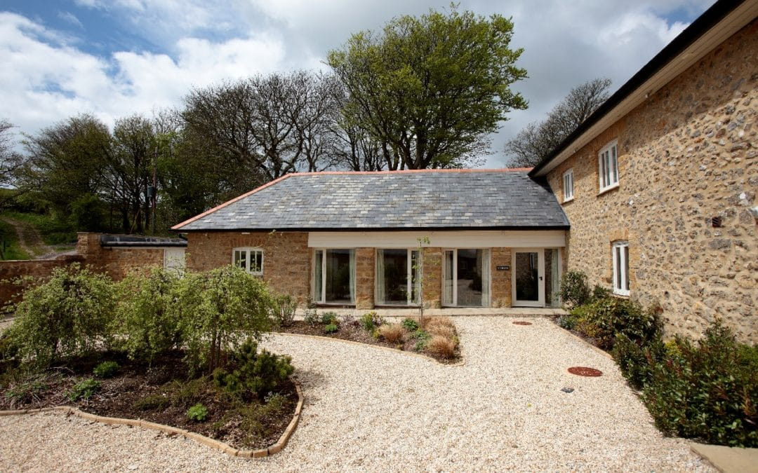 The Stables, Abbotsbury.  Sleeps 8 & baby.